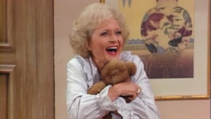 Golden Girls Rose Nylund Betty White