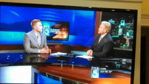 David Rae sharing financial wisdom with KTLA News LGBT Retirement