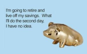 Great Retirement Plan Piggy bank