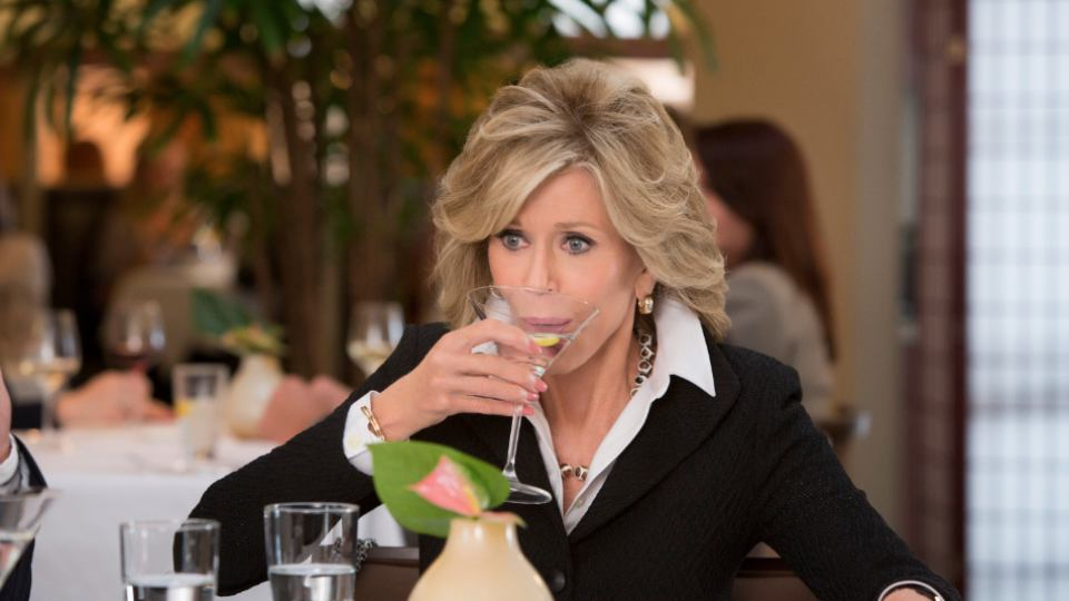 Forget Lemons Drink a Martini Like Jane Fonda