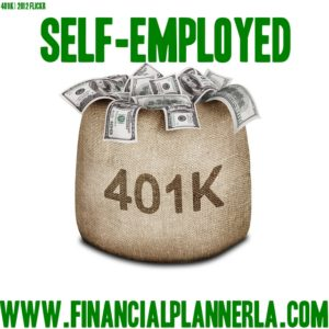Self employed retirement with a solo 401k