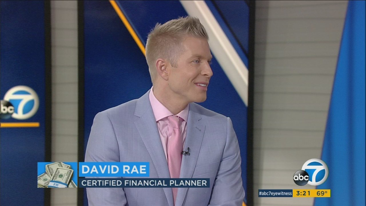 Financial Planner LA David Rae On ABC 7 News With Tax Tips