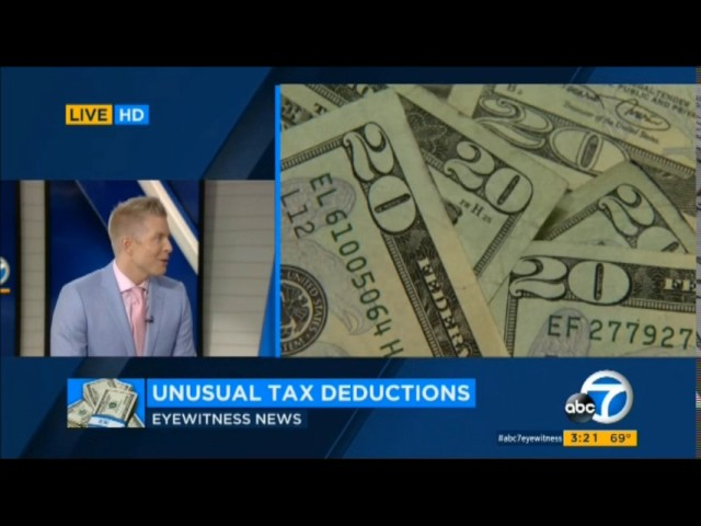 ABC 7 LA Tax Day Tips with Ellen Leyva & Elex Michaelson VIDEO -