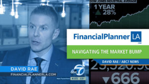What to do when the stock Market Tumbles Financial Planner David Rae on the ABC Evening News with Miriam Hernandez